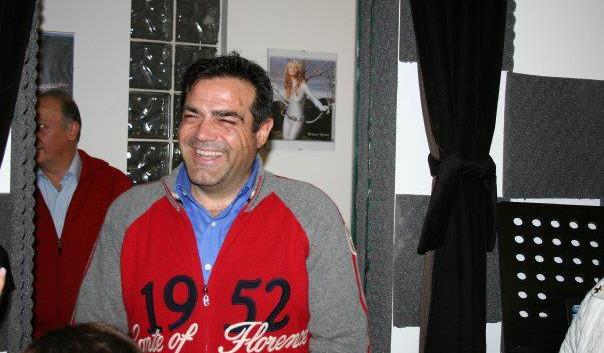Fabrizio Silvestri inaugurazione Fonorecord