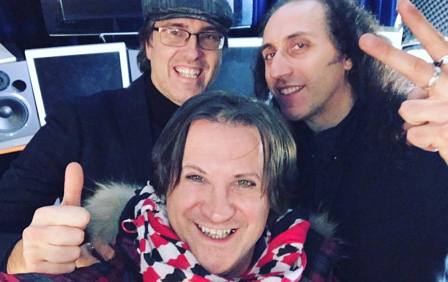 Mistheria e Don Elvis con Emiliano Bucci
