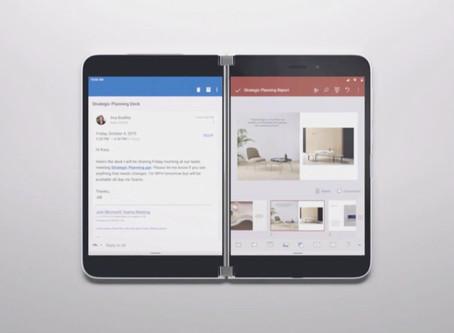 Microsoft annonce Surface Duo, un smartphone Android avec deux écrans