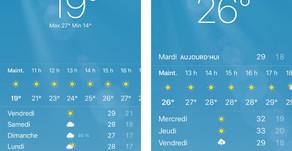 iOS 14 relooke la Météo (et le widget sur l'iPad)