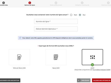 Free Mobile : l'eSIM est maintenant disponible