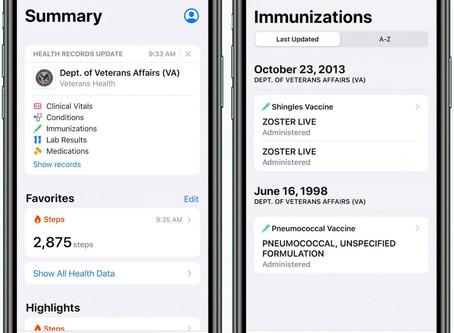 L'iPhone sert maintenant de dossier médical aux anciens combattants américains