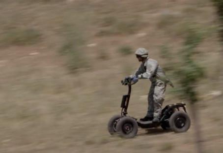 DSRaider, une trottinette électrique tout terrain pour l'armée