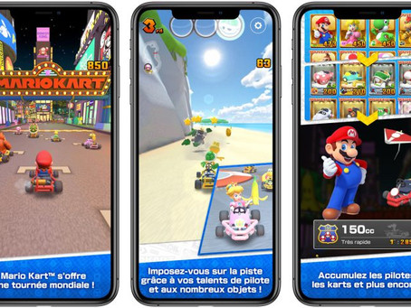 Mario Kart Tour disponible sur iOS et Android le 25 septembre