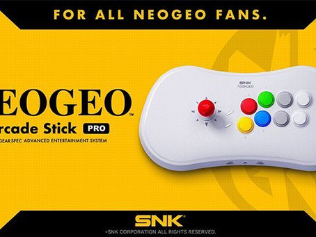 Neo-Geo Mini : l'Arcade Pro Stick va voir le jour