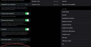iOS 14 : taper au dos de l'iPhone pour activer certaines actions