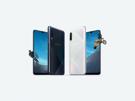 Samsung présente officiellement ses Galaxy A50s et A30s