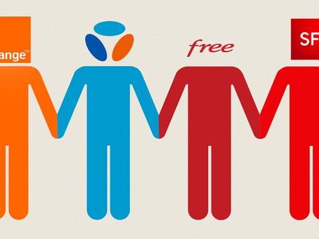 Déploiement 4G/5G : Orange et Free ont été les plus actifs au début de 2021