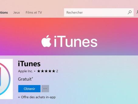 Apple prépare l'après iTunes sur Windows avec « la prochaine génération d'applications multimédia »