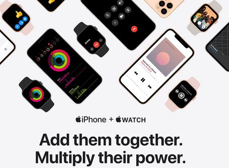 """Apple lance une nouvelle campagne """"iPhone + Apple Watch"""" (à deux, c'est mieux !)"""