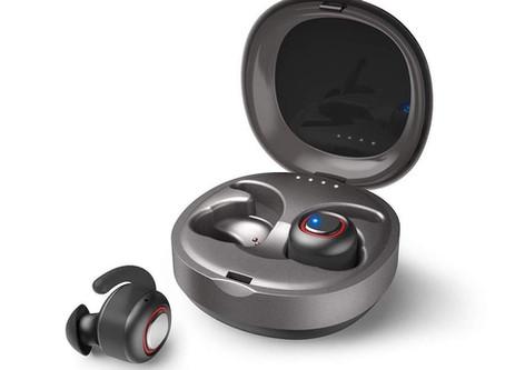 [#BonPlan] Écouteurs sans fil (Bluetooth 5.0) avec boite de chargement compatibles Siri/Google Assis