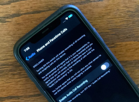 iOS 14 pourrait enregistrer les conversations téléphoniques