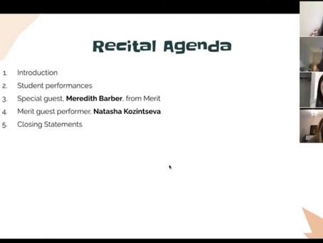 A Recap Of Our Summer 2020 Virtual Recitals