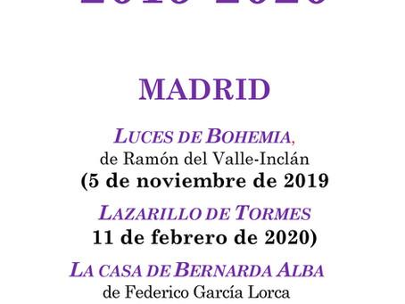 Festival de Teatro Español 2019-2020