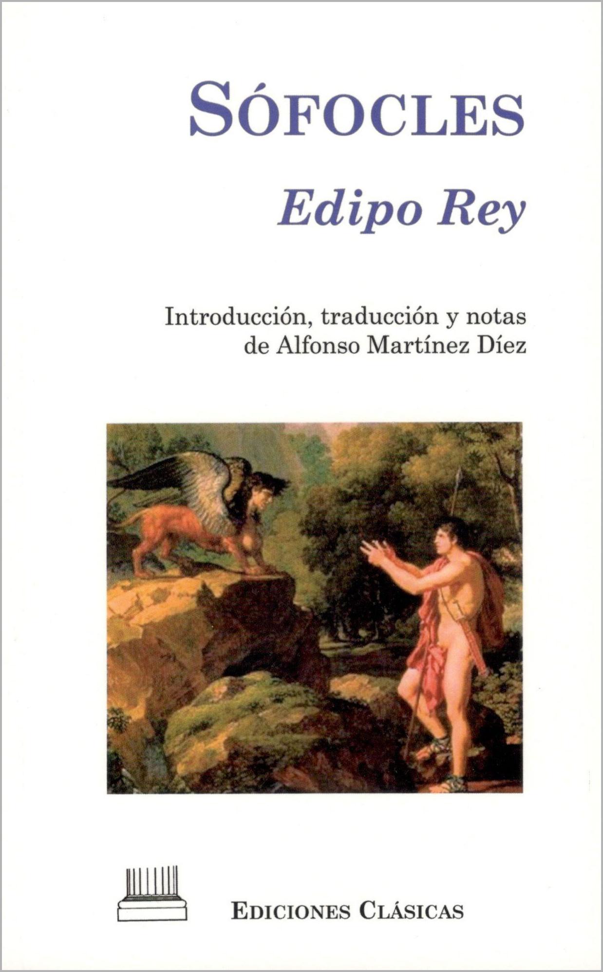 SÓFOCLES, EDIPO REY