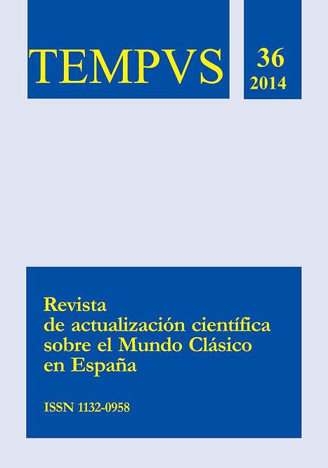 Revista Tempvs Nº 36 - Año 2014