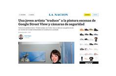 """Una joven artista """"traduce"""" a la pintura escenas de Google Street View y cámaras de seguridad"""