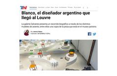 Homenajean en San Telmo a Ricardo Blanco, el diseñador argentino que llegó al Louvre
