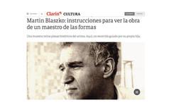 Martin Blaszko: instrucciones para ver la obra de un maestro de las formas