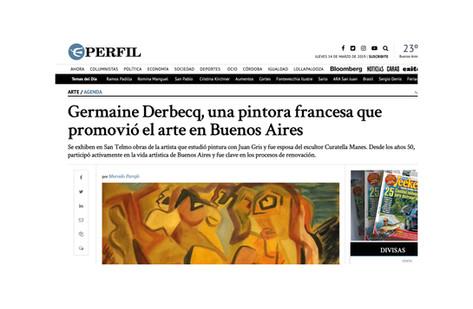 Germaine Derbecq, una pintora francesa que promovió el arte en Buenos Aires