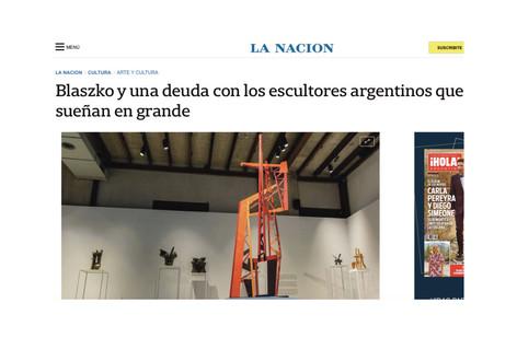 Blaszko y una deuda con los escultores argentinos que sueñan en grande