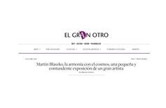Martín Blaszko, la armonía con el cosmos, una pequeña y contundente exposición de un gran artista