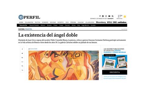 La existencia del ángel doble