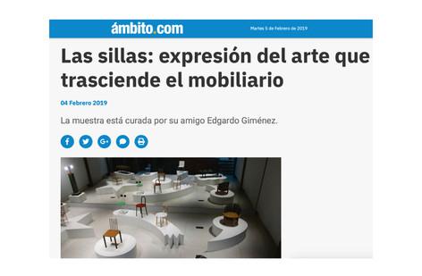 Las sillas: expresión del arte que trasciende el mobiliario