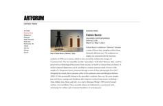 Fabián Bercic - Artforum