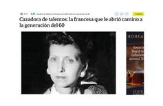 Cazadora de talentos: la francesa que le abrió camino a la generación del 60