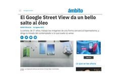 El Google Street View da un bello salto al óleo