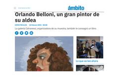 Orlando Belloni, un gran pintor de su aldea