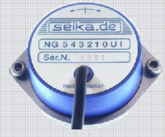 Capacitive inclinometer