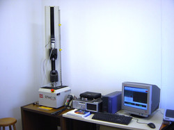 MTS Microforce testing system Uni. of Thessaly
