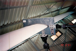 Wind turbine blade testing CRES