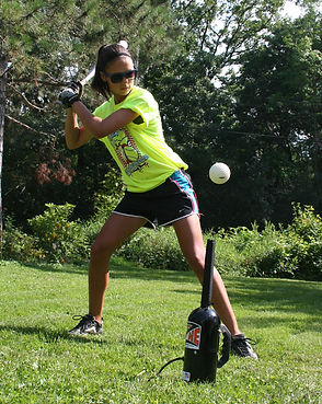 Softball Hit Zone air tee