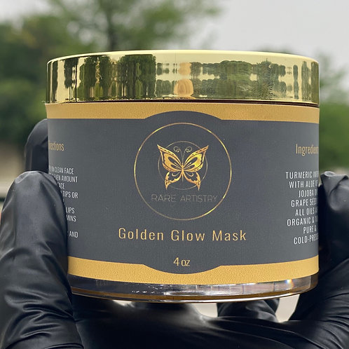 Golden Glow Mask