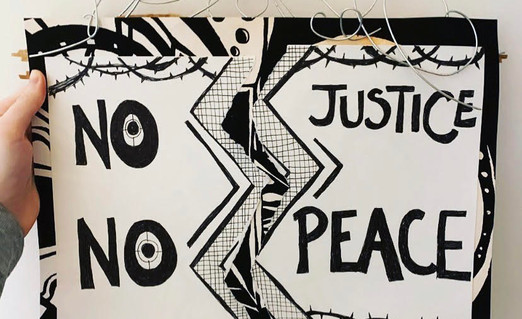 No Justice No Peace by Kaitlin Ruby
