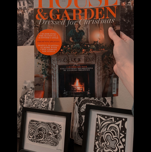 House and Garden December issue