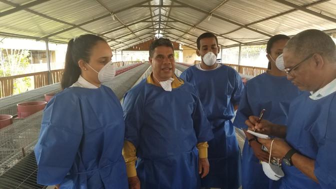 Cepror  se encamina a ser el Centro Genético de la Cunicultura  Nacional