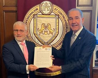 MESCYT proyecta ampliar programa de becas con la Universidad de Fordham