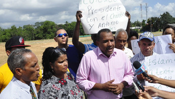 En Los Alcarrizos respaldan terminal inició presidente Medina
