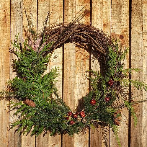 "24"" wreath - Jermaine"
