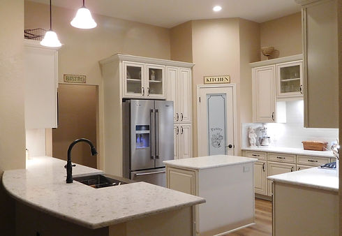 Farmhouse Kitchen Remodel Remolded by Streamline Interior Design