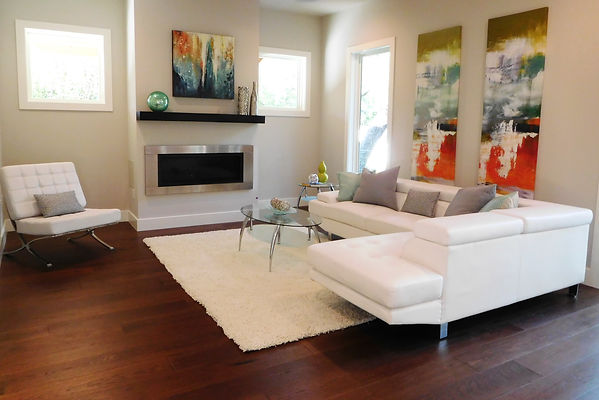 Staged Vacant Living Room By Streamline Interior Designs