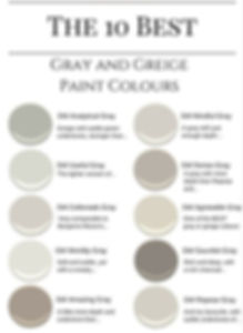 10 best grey paint colors