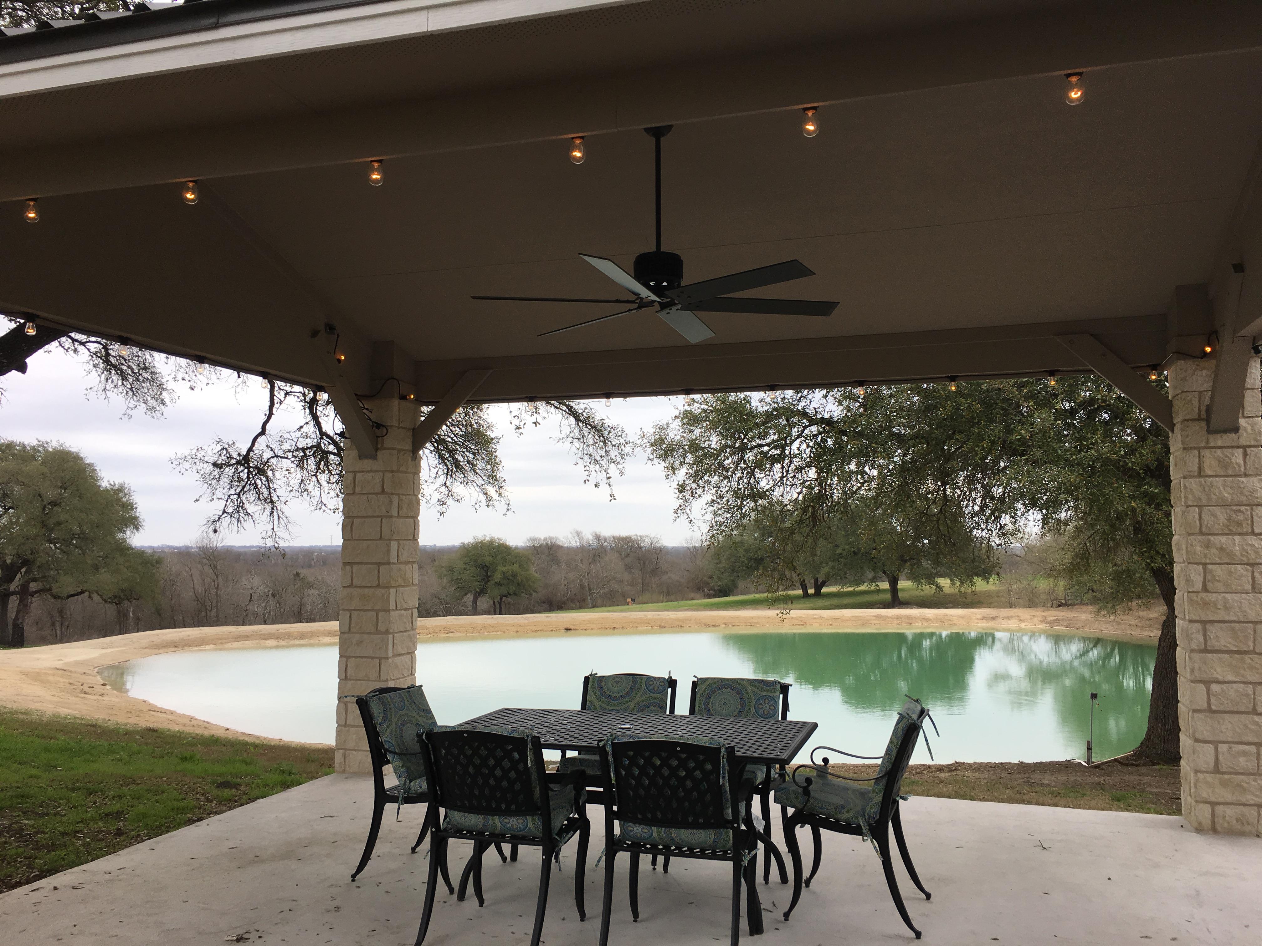 Pavilion complete