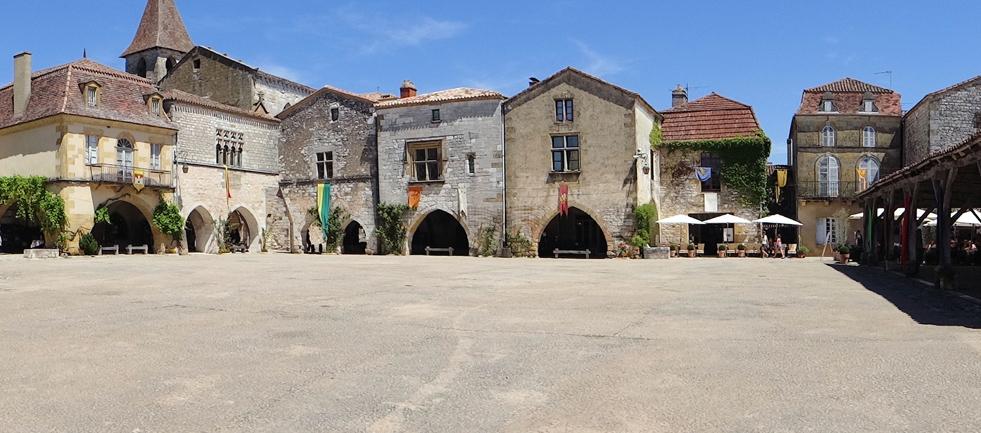 Circuit des bastides médiévales