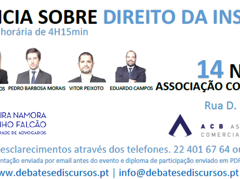 Conferência sobre o Direito da Insolvência - Braga