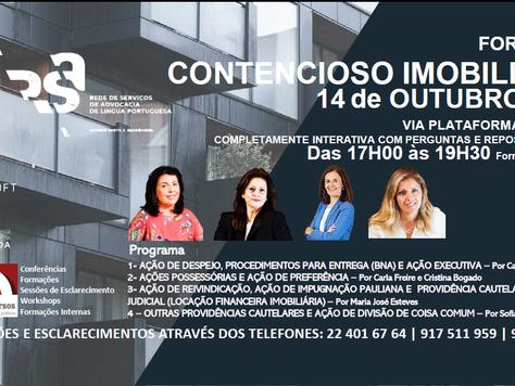 CONTENCIOSO IMOBILIÁRIO 14 OUTUBRO 2020